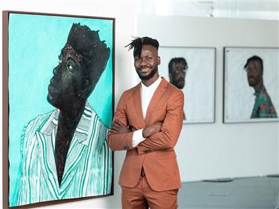 Portrait d'artiste : Amoako Boafo