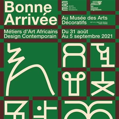 « Bonne arrivée » au musée des Arts Décoratifs de Paris