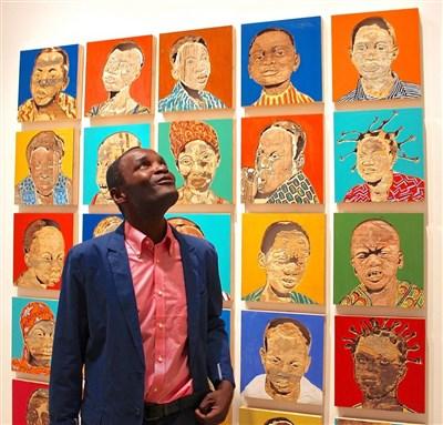 Portrait d'artiste : Aimé Mpane