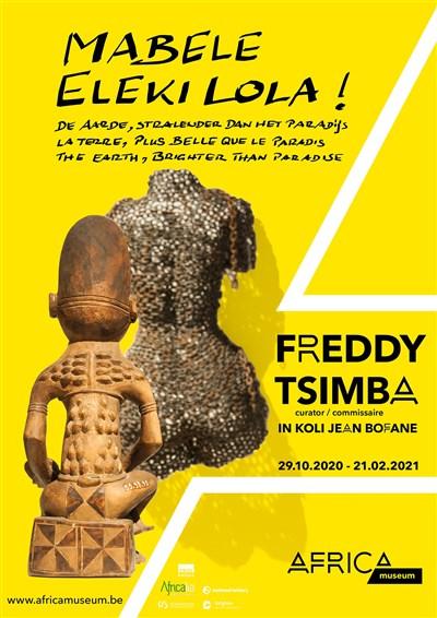 Une première exposition temporaire pour l'Africa Museum de Tervuren