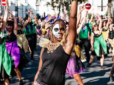 Célébration de l'Afrique lors de la Biennale de la danse de Lyon