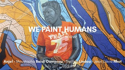 Exposition « We paint humans »