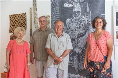 Exposition d'art africain dans les Côtes d'Armor
