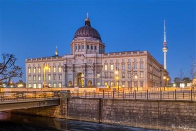 Ouverture du Forum Humboldt de Berlin