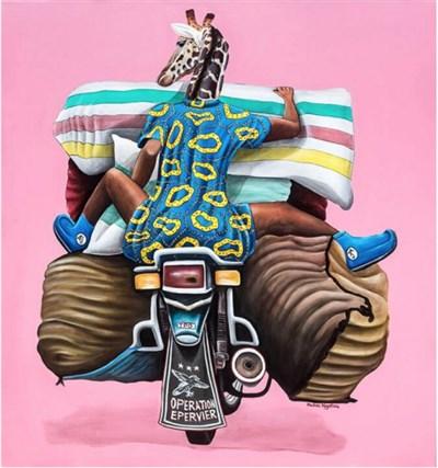 Portrait d'artiste : Abdias Ngateu