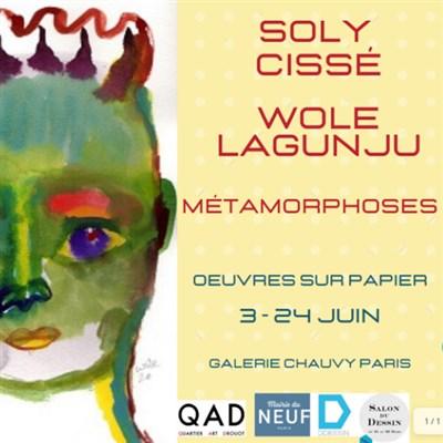« Métamorphoses » de Soly Cissé et Wole Lagunju