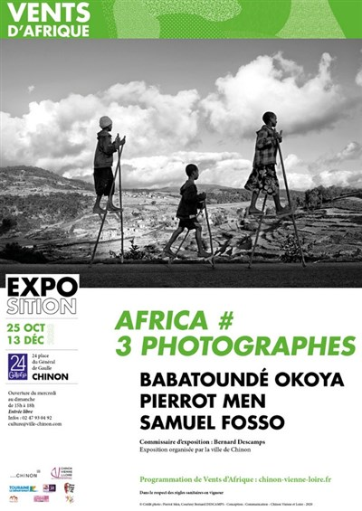 L'exposition « Africa #3 Photographes » à Chinon