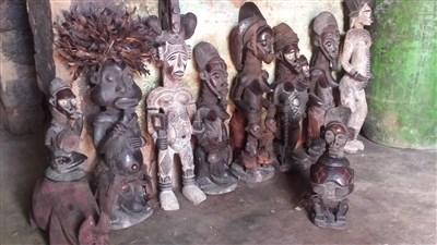 Arnaque art africain Cameroun - Côte d'Ivoire